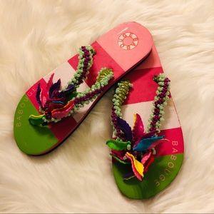 Fun Adorable seashell Sandals
